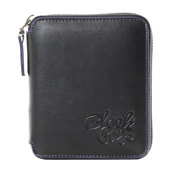 Black Pug Full Zip Wallet