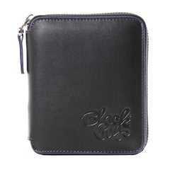 Black Pug Full Zip Wallet - Born Store