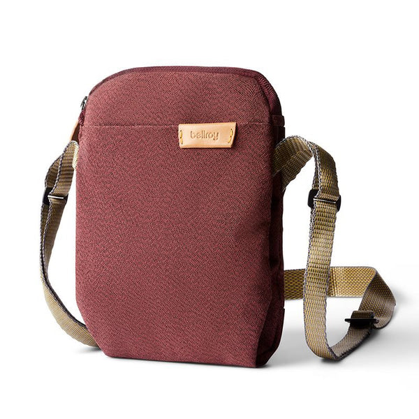 Bellroy City Pouch - Red Earth - Born Store
