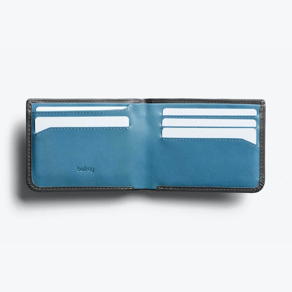 Bellroy Hide & Seek Wallet - Charcoal - Born Store