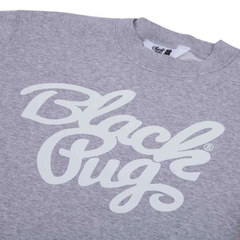 Black Pug Crew Stock Sweat Grey - Born Store