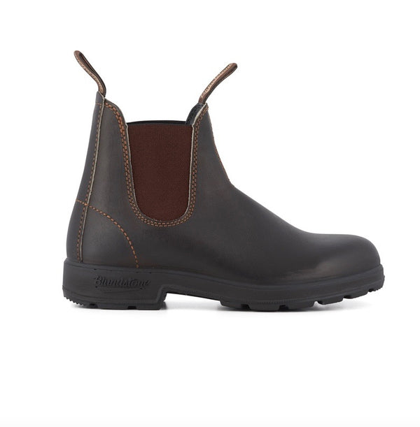 Blundstone 500 Original Leather Boot - Stout Brown - Born Store