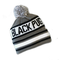 Black Pug Word-Up Beanie