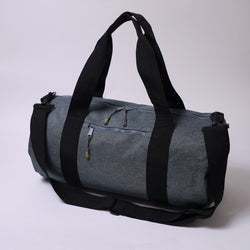 Born Essentials Barrel Bag - Grey Marl/Black - Born Store