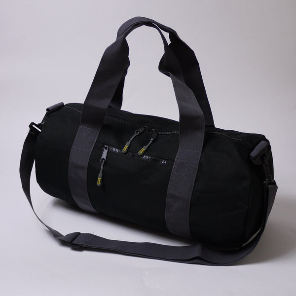 Born Essentials Barrel Bag - Black/Grey - Born Store