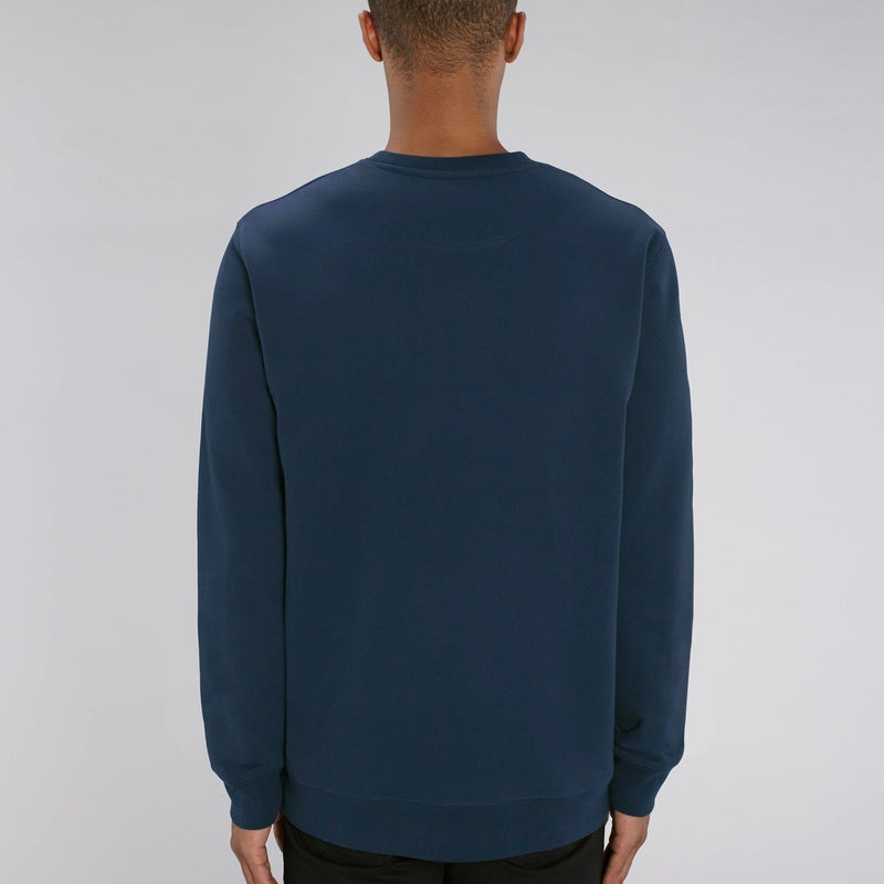 Born Essentials Organic Cotton Crew Sweat - French Navy - Born Store