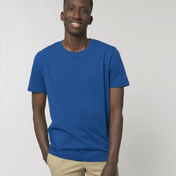 Born Essentials Organic Cotton Tee Shirt - Majorelle Blue - Born Store