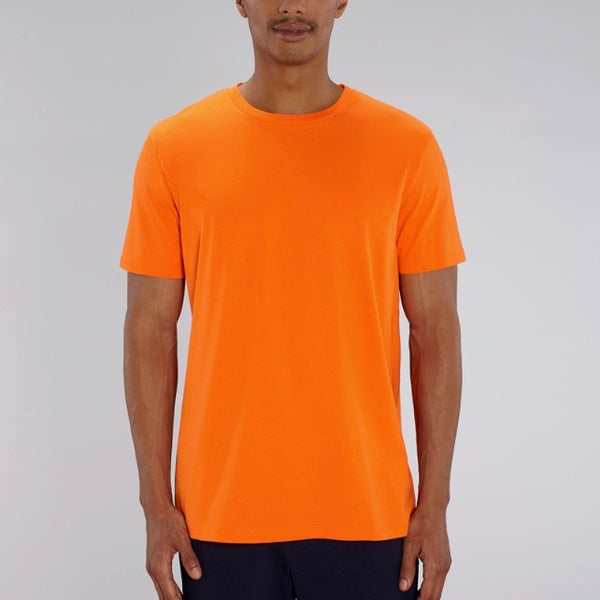Born Essentials Organic Cotton Tee Shirt - Bright Orange - Born Store