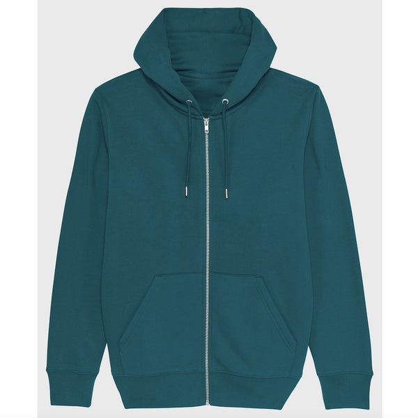 Born Essentials Organic Cotton Zip Hooded Sweat - Stargazer