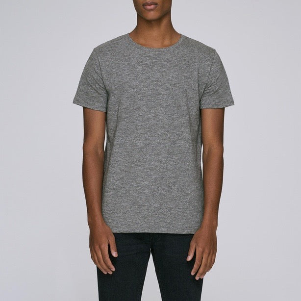Born Essentials Organic Cotton S/S Tee Shirt - Heather Grey