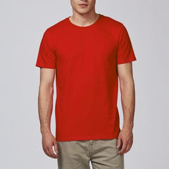 Born Essentials Organic Cotton S/S Tee Shirt - Red