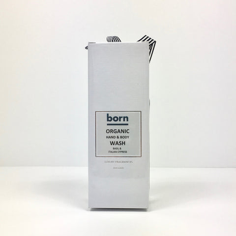 Born Organic Hand & Body Wash - Basil & Italian Cypress - Born Store