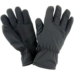 Born Soft Shell Gloves - Black - Born Store