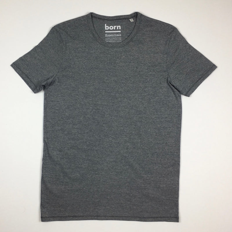 Born Essentials Organic Cotton Micro Stripe T-Shirt - Navy - Born Store
