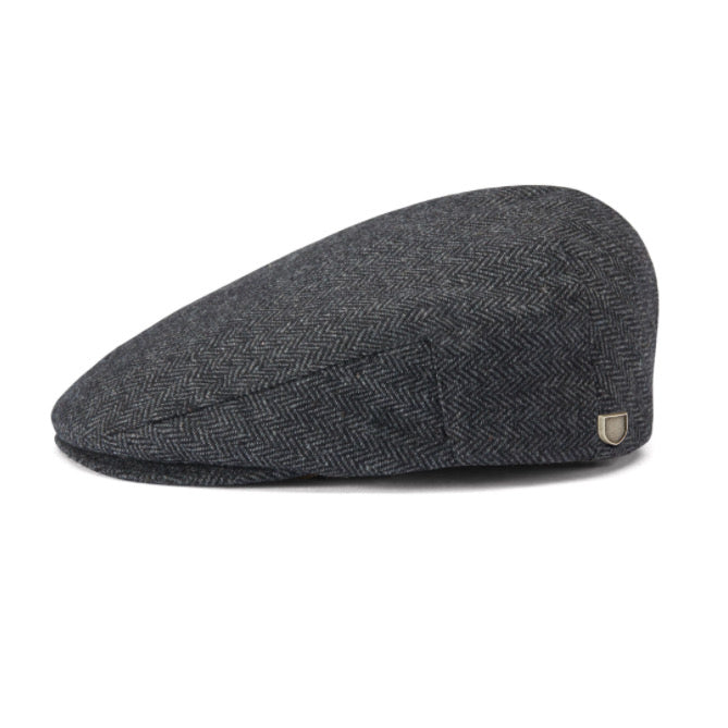 Brixton Hooligan Snap Cap - Grey/Black - Born Store