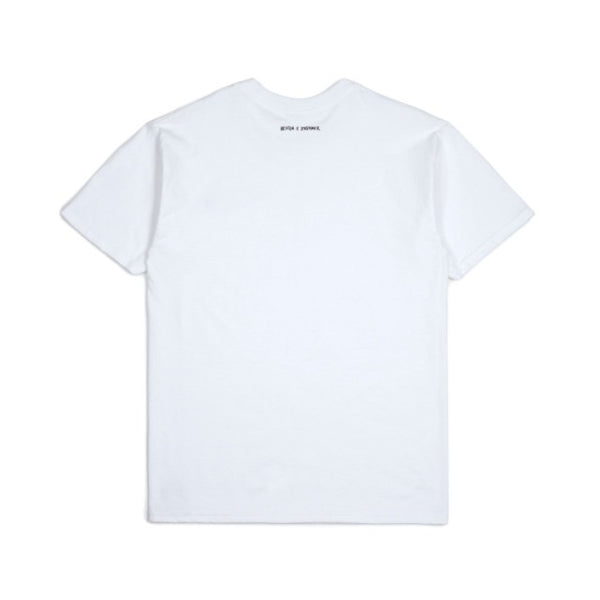 Brixton X Strummer Out Of Control S/S Tee Shirt - White