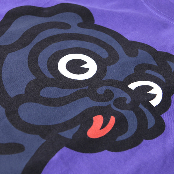 Black Pug x Champion Rocky Tee - Purple - Born Store
