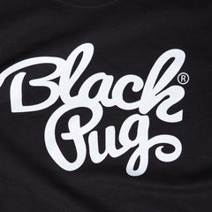 Black Pug x Champion Stock Logo Tee