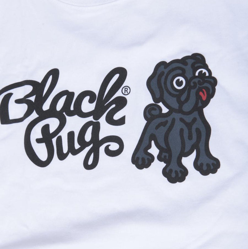 Black Pug x Champion Combo Tee - White - Born Store