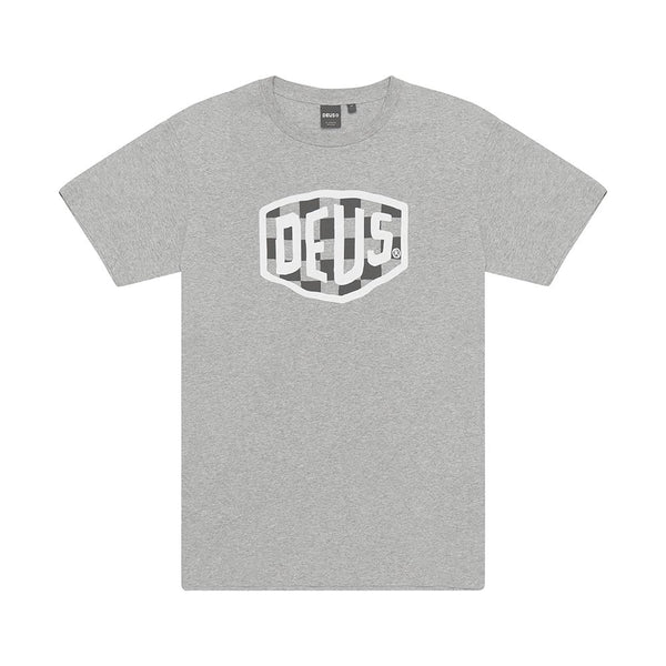 Deus Ex Machina Moto Tee Shirt - Grey Marle