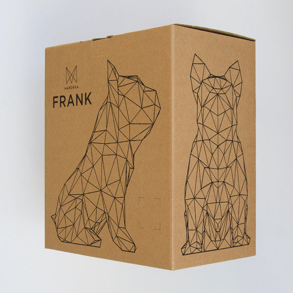 Marokka Frank Sculpture - Light Grey - Born Store