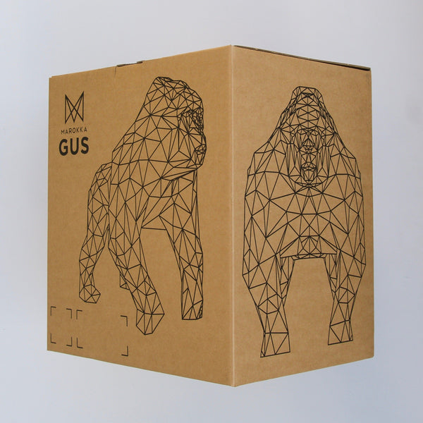 Marokka Gus Sculpture - Black - Born Store