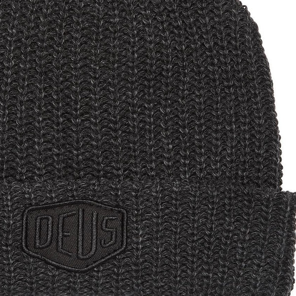 Deus Ex Machina Melange Beanie - Phantom Black - Born Store