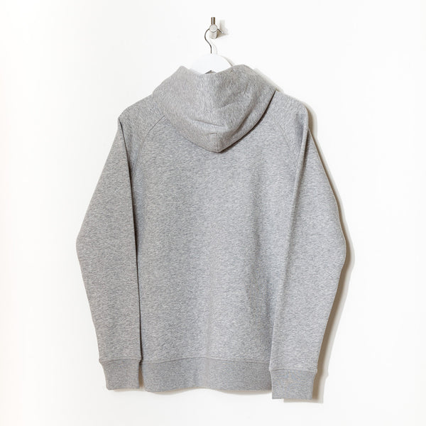 Born Essentials Organic Cotton Hooded Sweat - Heather Grey - Born Store