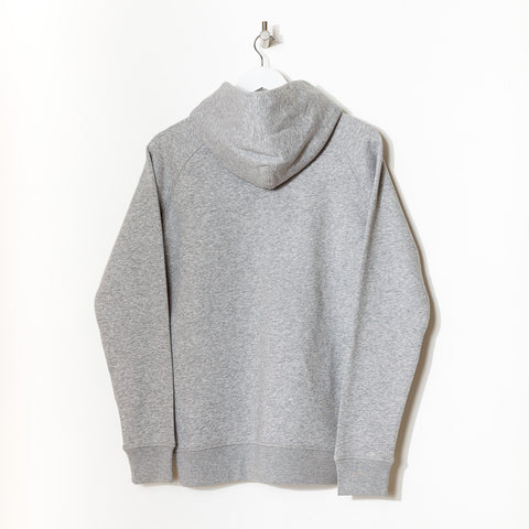 Born Essentials Organic Cotton Hooded Sweat - Heather Grey