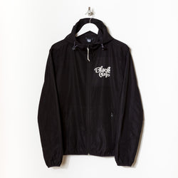 Black Pug Hooded Rain Jacket - Born Store