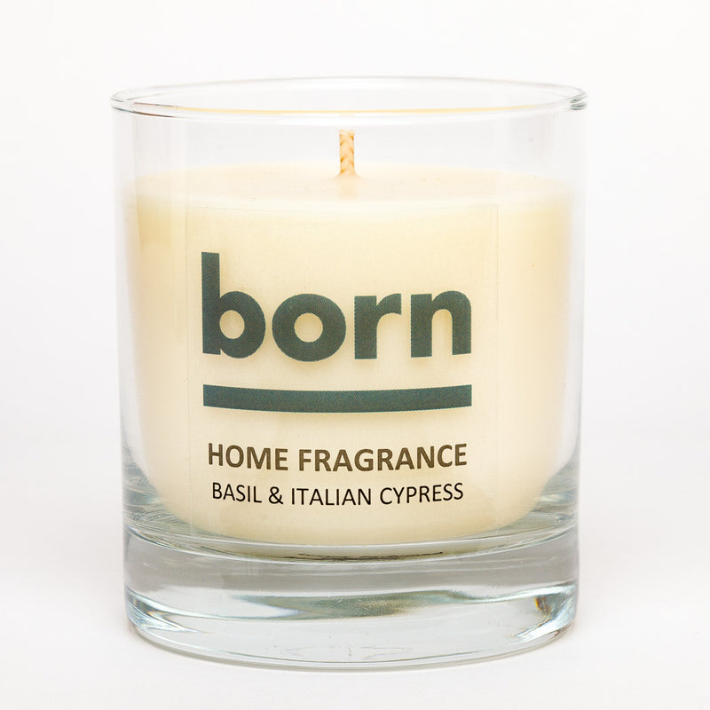 Born Candles - Basil and Italian Cypress - Born Store