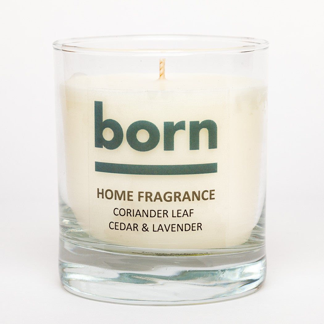Born Candles - Coriander Leaf / Cedar & Lavender