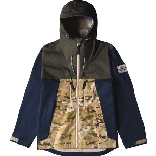 Griffin X Element Tactical Jacket - Woodland Camo