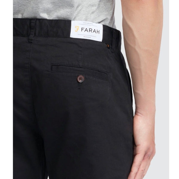 Farah Elm Chino Twill - Black - Born Store