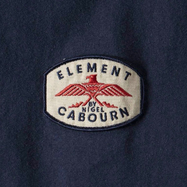 Nigel Cabourn X Element Totem Tee Shirt - Eclipse Navy