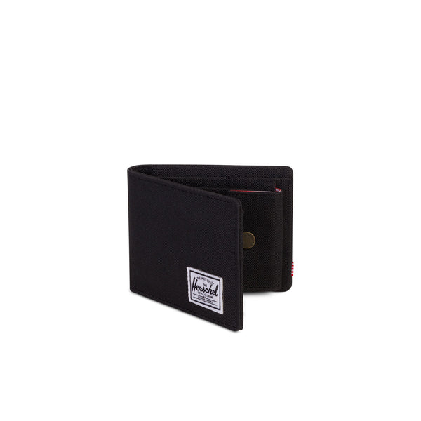 Herschel Roy Coin Wallet - Black