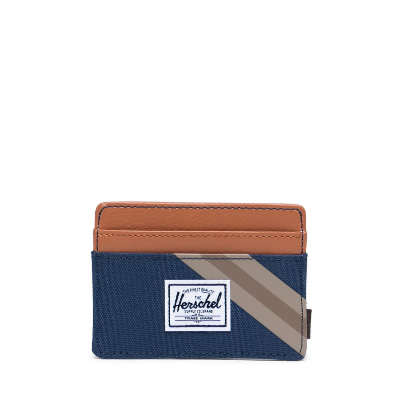 Herschel Charlie Wallet - Navy/Synthetic Leather - Born Store
