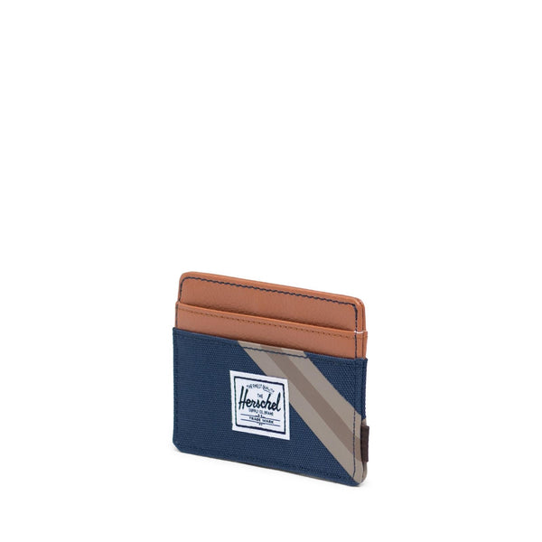 Herschel Charlie Wallet - Navy/Synthetic Leather