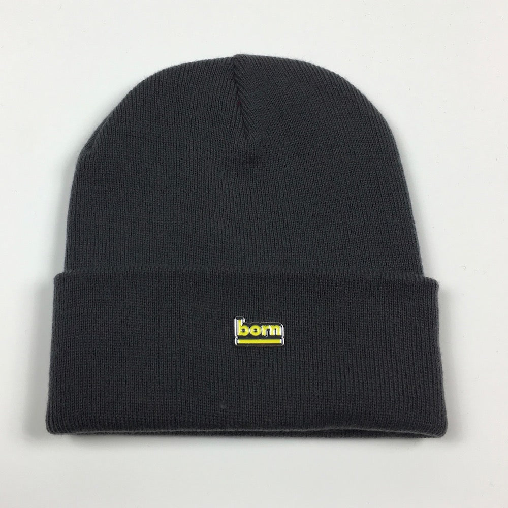 Born Beanie - Graphite Grey