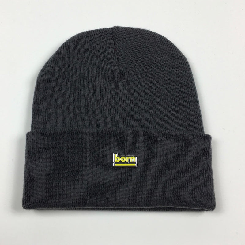 Born Beanie - Graphite Grey - Born Store
