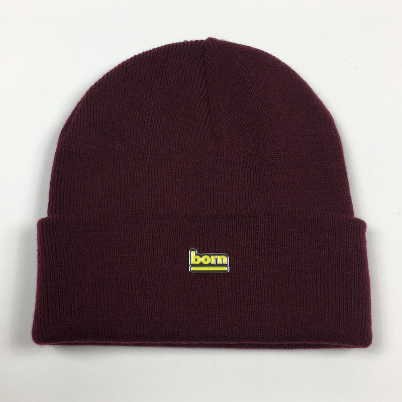 Born Beanie - Burgundy - Born Store