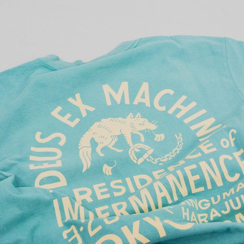 Deus Ex Machina Impermanence Tee Shirt - Lagoon Yellow - Born Store