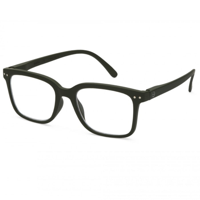 Izipizi Reading Glasses Style L - Khaki Green