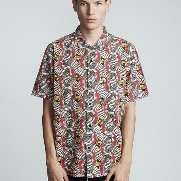 Element Jamm S/S Shirt - Burgundy - Born Store