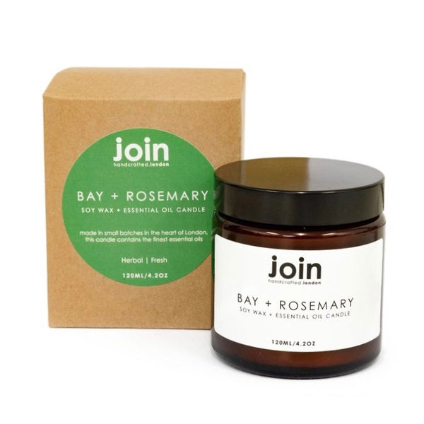 Join Bay & Rosemary Tide Candle 120ml - Born Store