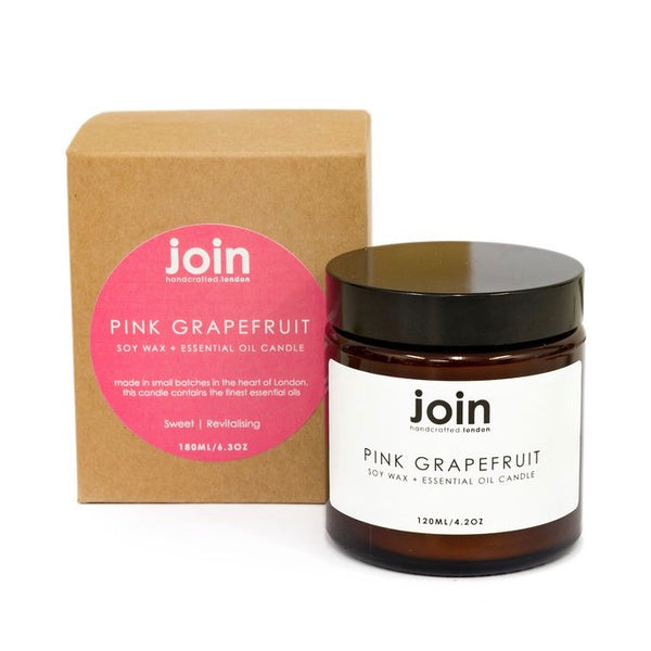 Join Pink Grapefruit Candle 120ml - Born Store