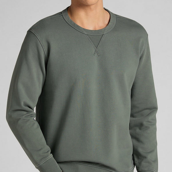 Lee 101 Crewneck Sweatshirt - Laurel Green