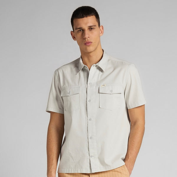 Lee 101 S/S Service Shirt - Gray Viol