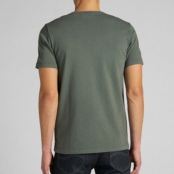 Lee 101 WW Pocket Tee Shirt - Laurel Green
