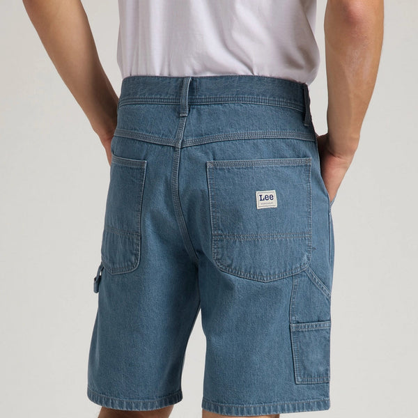 Lee Carpenter Denim Shorts - Mid Wash